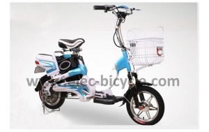 China EB-HD012 front damper blue city Lead-acid electric bicycle on sale