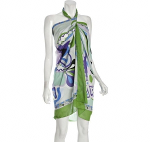 China new arrival fashion tropic sarong,pareo on sale