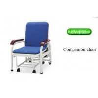 China High class sponge artificial leather companion chair, medical examination chair on sale