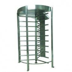 China RS232 IC Cards Full Height Turnstile with Door Access Control for Office Building CE OEM on sale