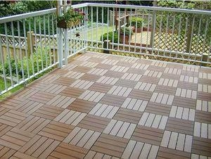 China diy wpc flooring deck on sale
