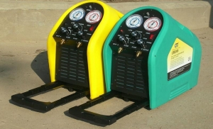 China Portable refrigerant recovery/recharge Unit_CM2000 on sale