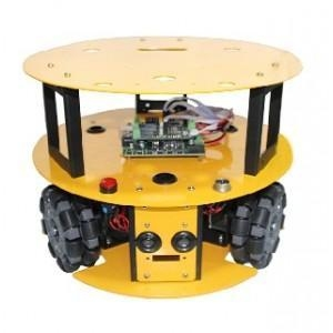 China 3WD 100mm Omni Wheel Mobile arduino Robot Kit 10013 on sale