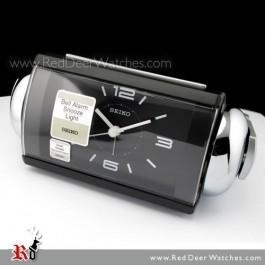 China Seiko Alarm Clock Loud Bell Quiet Sweep Snooze QHK027K on sale
