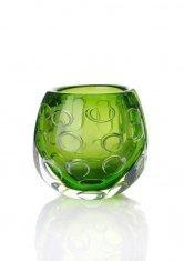 China Hot Selling Art Deco Glass Vasefor Home / Bar decoration with Factory Price on sale