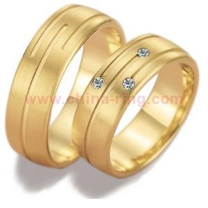 China OEM/ODM Metal Ring Factory Anti-corrosion CZ Engagement Ring Set on sale