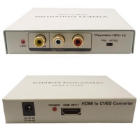 Video Converter Solutions HDMI TO CVBS Composite R/L Audio Convertor