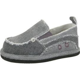 China shoes Baby Deer Walking Gray Canvas Slip On Shoes on sale