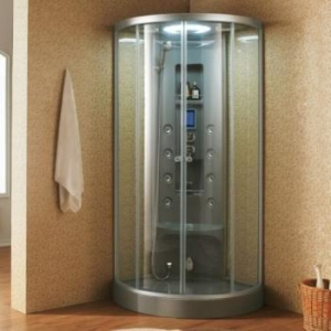 China Grey Acrylic steam shower room on sale