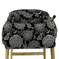 Accessories and Baby Basics Peanut Shell Shopping Cart Cover - Tea Time