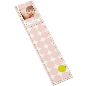 China Cards & Gift Tags Bookmark Dots Pink on sale