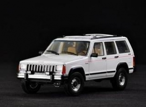 China Car Models High Artificial 1/18 Jeep Die Cast Car Model on sale