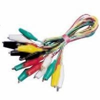 China Jumper test lead set Jumper Test Lead Set 10 Pairs 40MM Alligator Clips 100Wires 5 Colors AD-4031 on sale