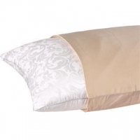 China Silk Filled Pillows Popular Jacquard Pillowcases on sale