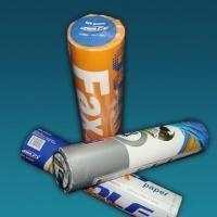China Thermal fax paper , ATM paper rolls , receipt paper rolls , carbonless paper roll, cash paper roll on sale
