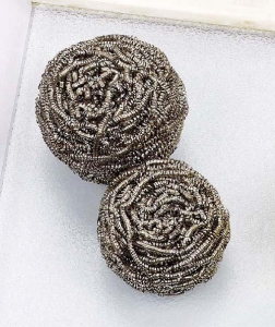 China Spiral special material scourer(nickel stainless steel) on sale