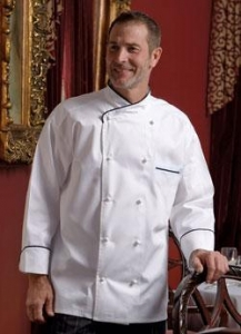 China Luxembourg Chefs Coat on sale