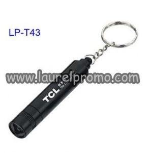 China Key Chain Flashlight Key Chain Promotion Aluminium LED Torch Flashlight on sale