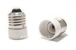 China Socket 1 pc LED Light Bulb Lamp Adapter E27 - E14 Converter on sale