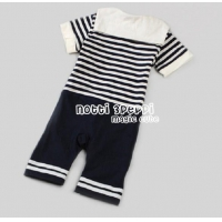sold out Brand name: baby boy romper one-piece children cloth baby cloth navy cloth