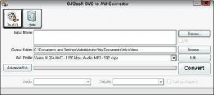 China OJOsoft DVD to AVI Converter on sale