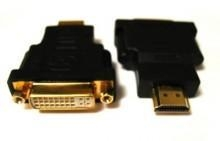 China DVI Adapters DVI-I (24+5pin) Female to HDMI Male Converter Adapter on sale