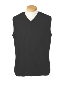 China Sweaters Home Devon & Jones Mens V-Neck Sweater Vest D477 on sale