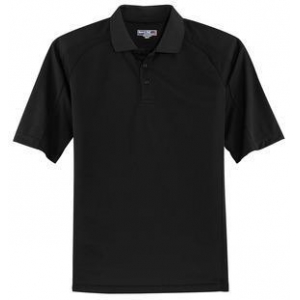 Polo Shirts Home Sport-Tek Mens Dri Mesh Pro Short Sleeve Polo Shirt T474