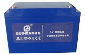 China Applications of Silicon Storage Battery Starting Power Battery on sale