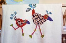 China The `Crazy Chickens` Blanket on sale