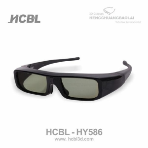 China Active shutter 3d glasses Active shutter 3d glasses HY586 on sale