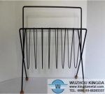 Desk wire magazine rack