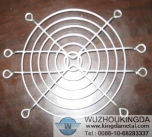 China Wire mesh fan cover on sale