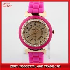 China R0420DP new design diamond master watch,diamond geneva silicone master wristwatches on sale