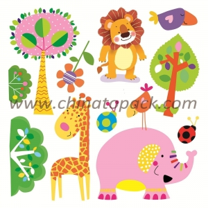 China Sticker Series Product Name:Newest Vinyl 3D Children Wall Stickers JYC-012 on sale