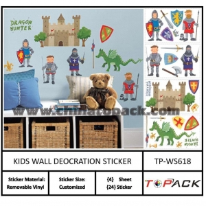 China Sticker Series Product Name:Nursery wall decals kids room decorTP-WS618 on sale