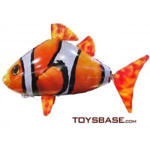 China Wholesale China Toys - Inflatable Air Radio Remote Control RC Flying Fish - Flying Shark on sale