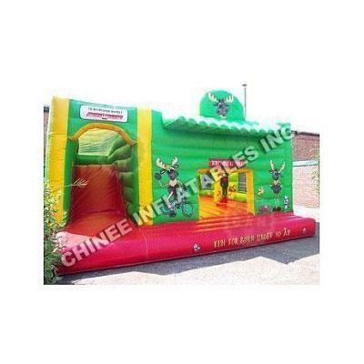China Bounce House Slides Deer Slide Combo T2-1474