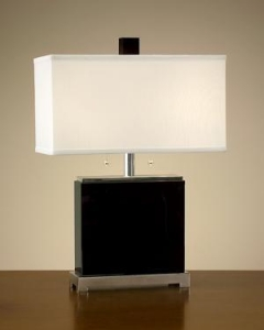 China John Richard Black Crystal Table Lamp JRL-7777 on sale