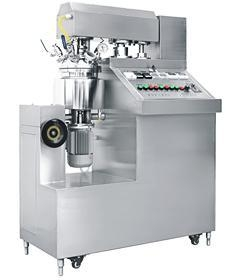 China Emulsifying Equipment 5~10 Liter Laboratory vacuum homogenization emulsifying blender on sale