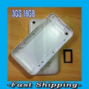 China iPhone 3GS Back Housing Cover Case + SIM Tray iPhone 3GS 16GB WHITE on sale