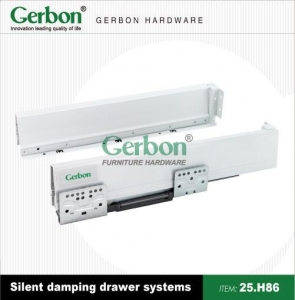 China Silent Damping Drawer Systems 25.H86 on sale