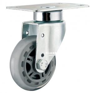 China American transparent wheel-universal caster wheel medical bed on sale