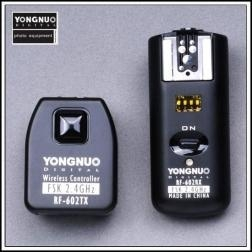 China YONGNUO RF-602 Wireless Remote Flash Trigger for Canon on sale
