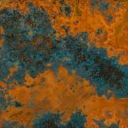 China Azul Patina Copper Sheet - Light 36 Gauge on sale