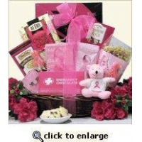 Breast Cancer Awareness Gift Basket For The Cure