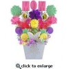 China Mother's Day Gifts - Celebrate Mom Candy Flower Bouquet for sale