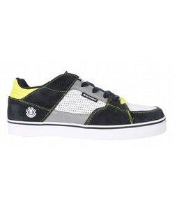 China Element Gatling Skate Shoes Navy/Silver on sale