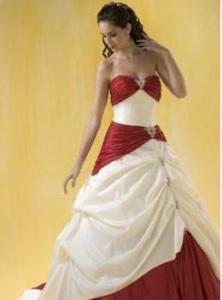 China Ball Gown Quinceanera Ball Gown Wedding Dress Taffeta J1055 on sale