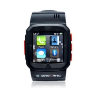 China W12 GPS GSM Quadband SOS Bluetooth Touchscreen Camera Support 8GB TF card Latest Watch Phone on sale